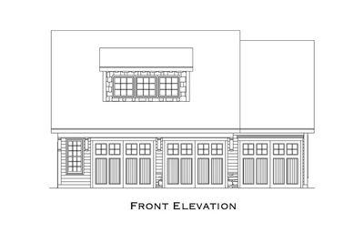 Comforting 3 Car Carriage House Plan - 29827RL thumb - 06