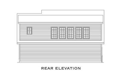 Comforting 3 Car Carriage House Plan - 29827RL thumb - 08