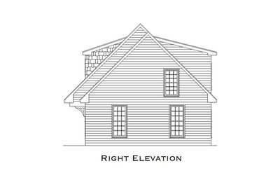 Comforting 3 Car Carriage House Plan - 29827RL thumb - 09