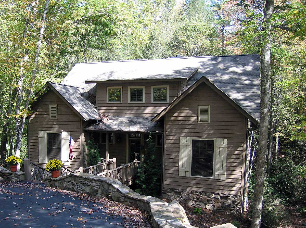 Cozy vacation home plan with bonus 29837rl 1st floor for Cost to build craftsman home