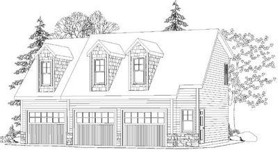 3 Bay Detached Garage and Apartment - 29853RL thumb - 03