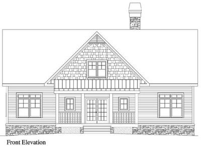 Rustic House Plan for Sloping Lot - 29860RL | Architectural ...