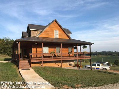 House Plan 3000D comes to life in Kentucky! - photo 003