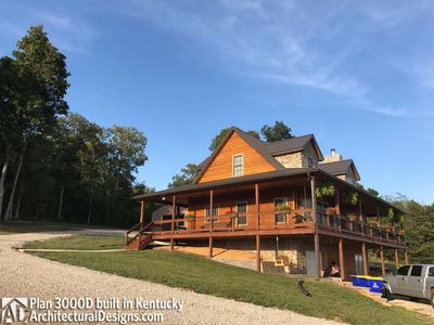 House Plan 3000D comes to life in Kentucky! - photo 007