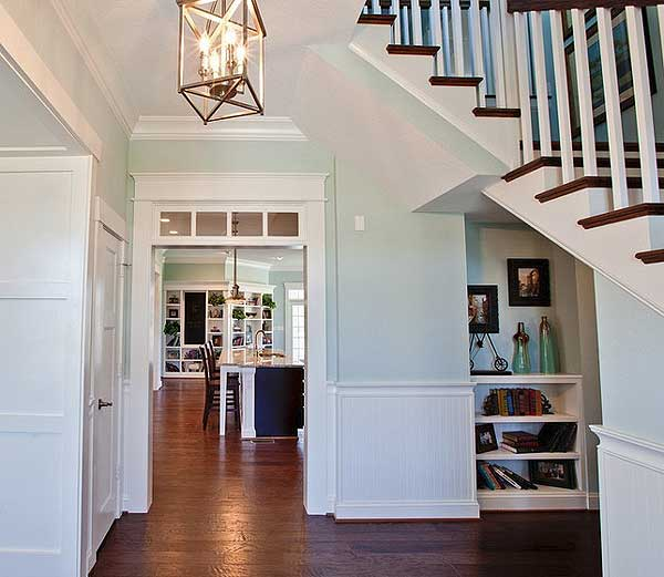 Farmhouse Foyer : Architectural designs