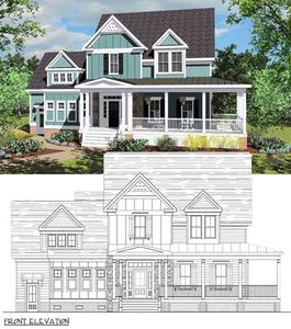 Coastal Victorian Cottage House Plan - 30020RT thumb - 02
