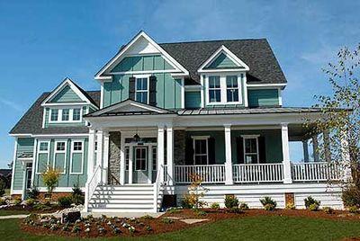 Coastal Victorian Cottage House Plan - 30020RT | Architectural ...