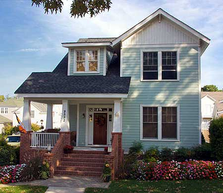 Narrow lot craftsman home plan 30035rt 2nd floor for Craftsman home plans for narrow lots