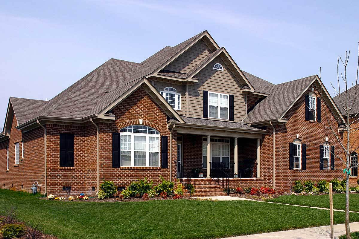 Master down age in place home plan 30042rt for Aging in place house plans