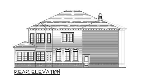 New Orleans House Plan - 30044RT