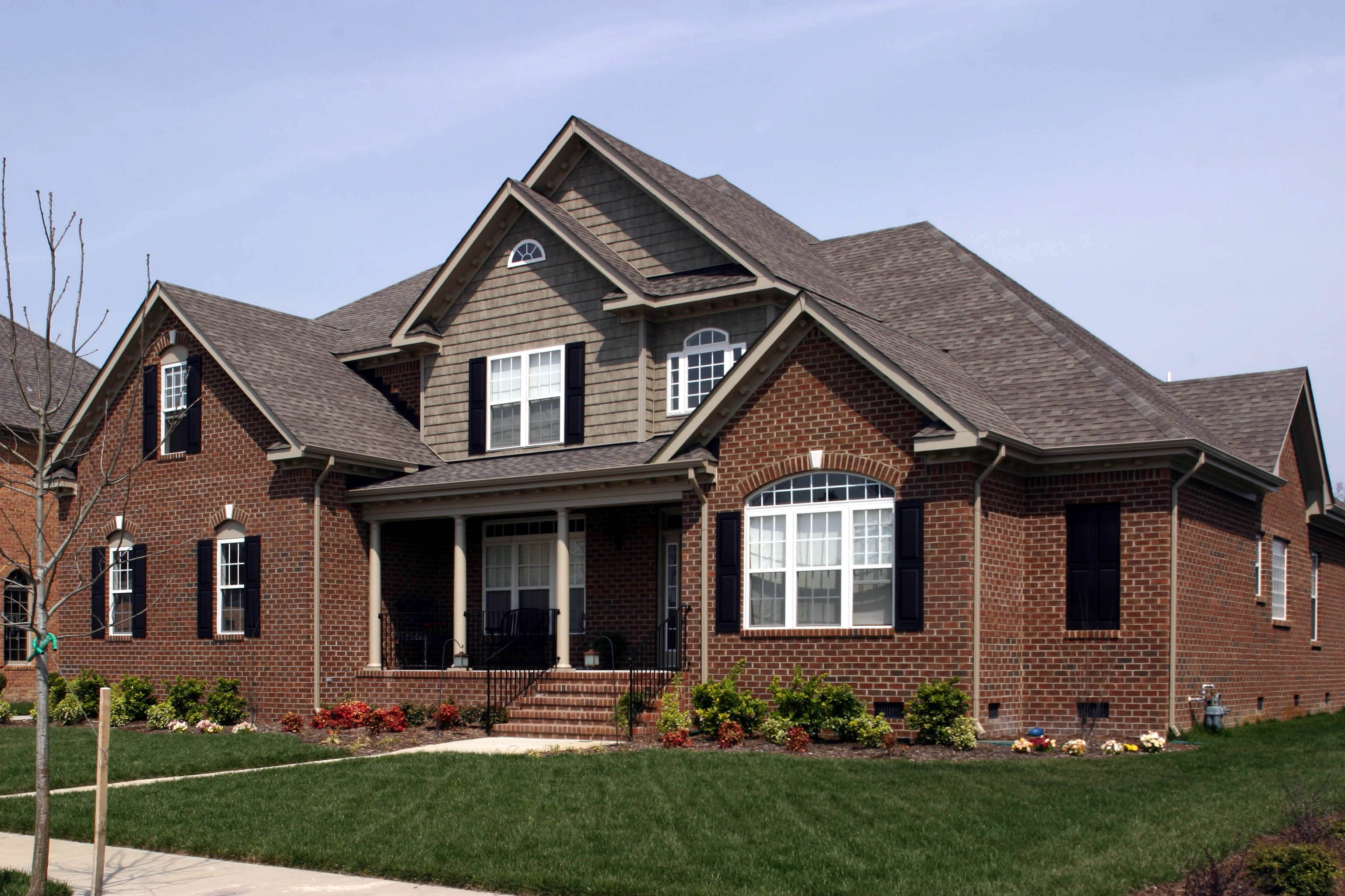 Traditional home plan with brick exterior 30052rt 1st for Traditional brick house plans