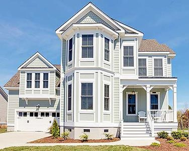 Exclusive victorian with bay windows 30085rt for House plans with bay windows