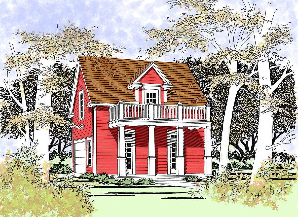 Studio Or Guest Quarters 3064d Architectural Designs