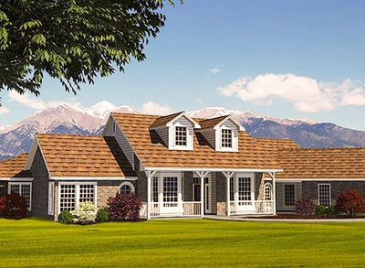 Flexible house plan with in law suite 3067d for Homes with inlaw suites