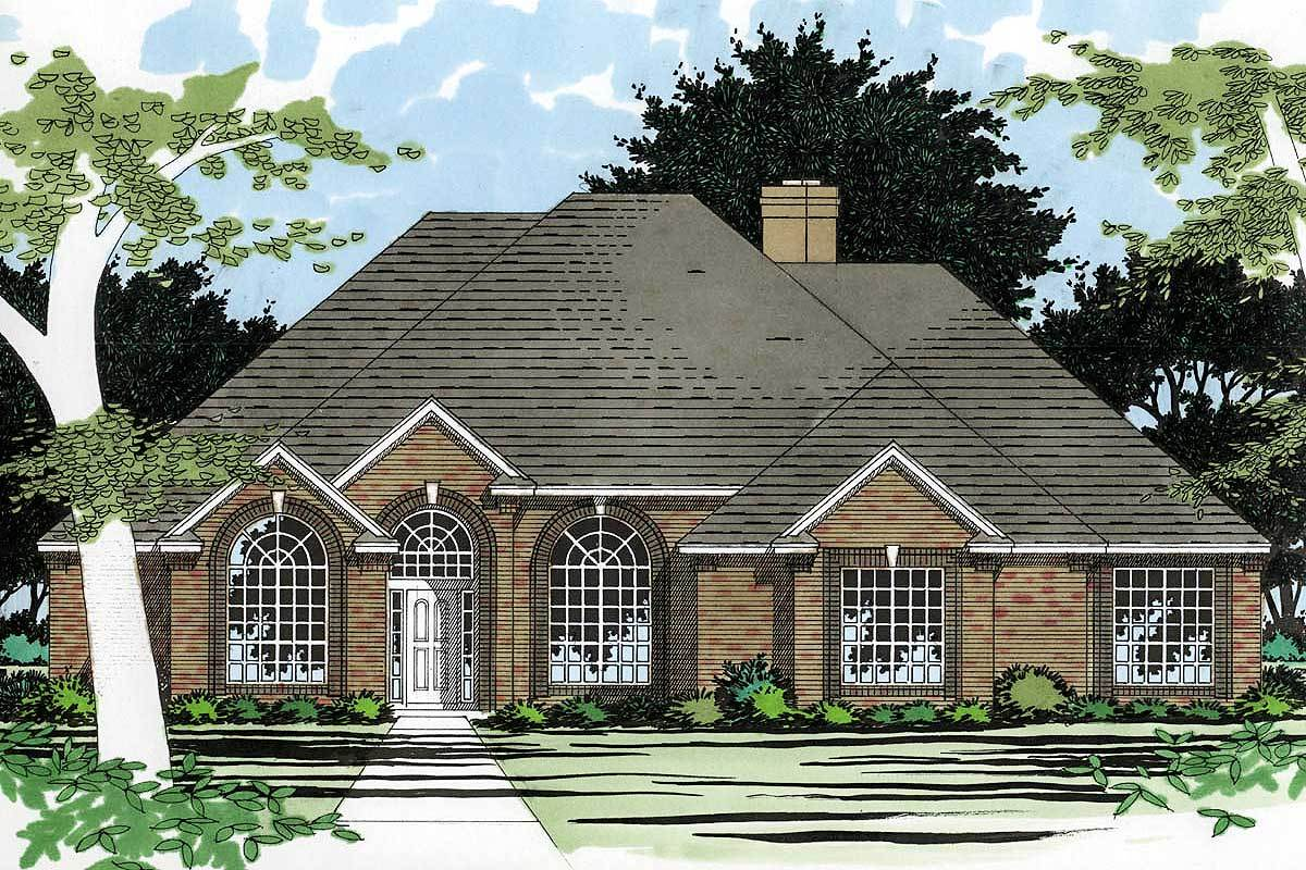 Designed for entertaining 3077d architectural designs for Large home plans for entertaining