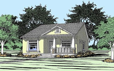 Cozy Craftsman Cottage - 31048D thumb - 01