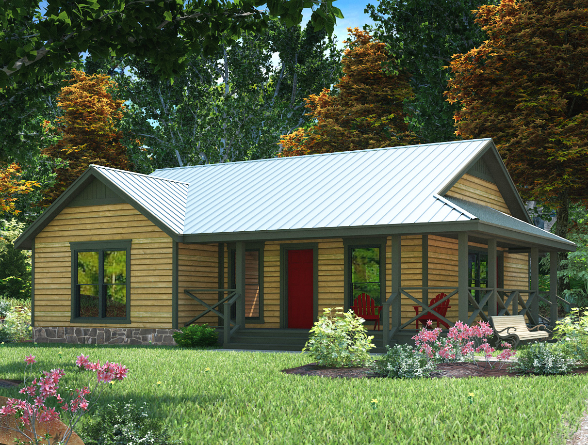 Compact country style home plan 31052d 1st floor for Country house plans photos