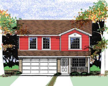 Narrow Lot Traditional House Plan - 31061D thumb - 01