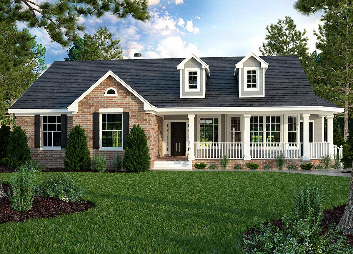 small ranch house floor plans great little ranch house plan 31093d architectural designs house plans 6037