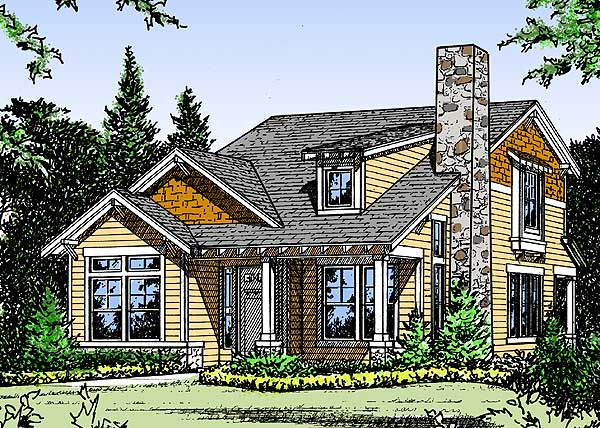 Cozy cottage home plan 31120d 1st floor master suite for Cozy cottage plans