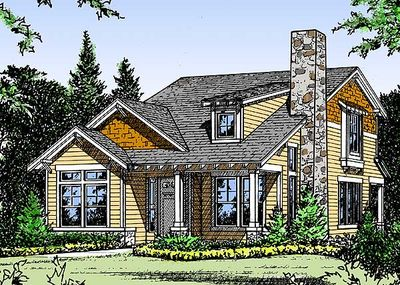Cozy cottage home plan 31120d architectural designs for Cosy house plans