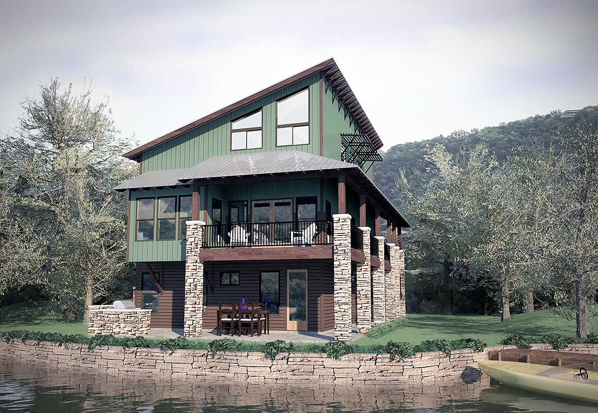 Dynamic contemporary home plan 31145d architectural for Dynamic house