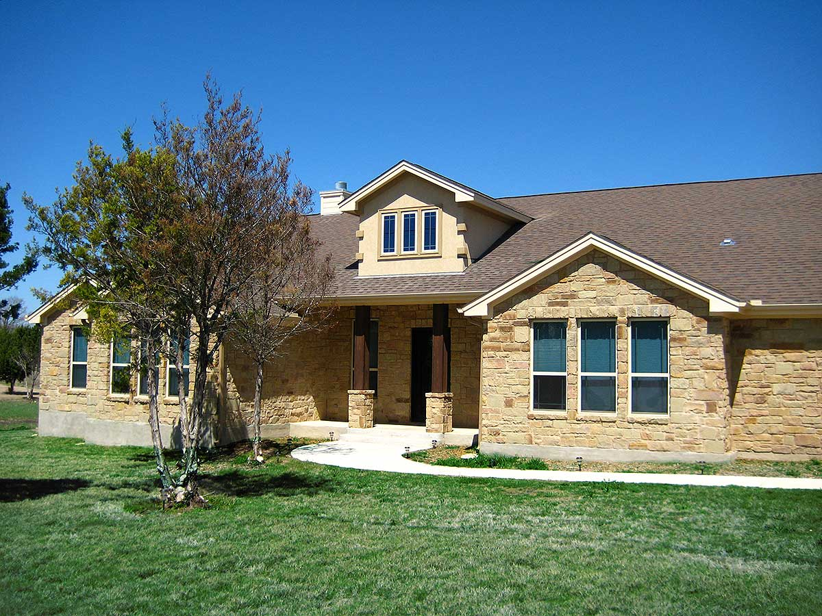 Hill country pleaser 31148d 1st floor master suite for Hill country plans