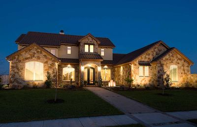 Impressive Hill Country Home - 31163D thumb - 01