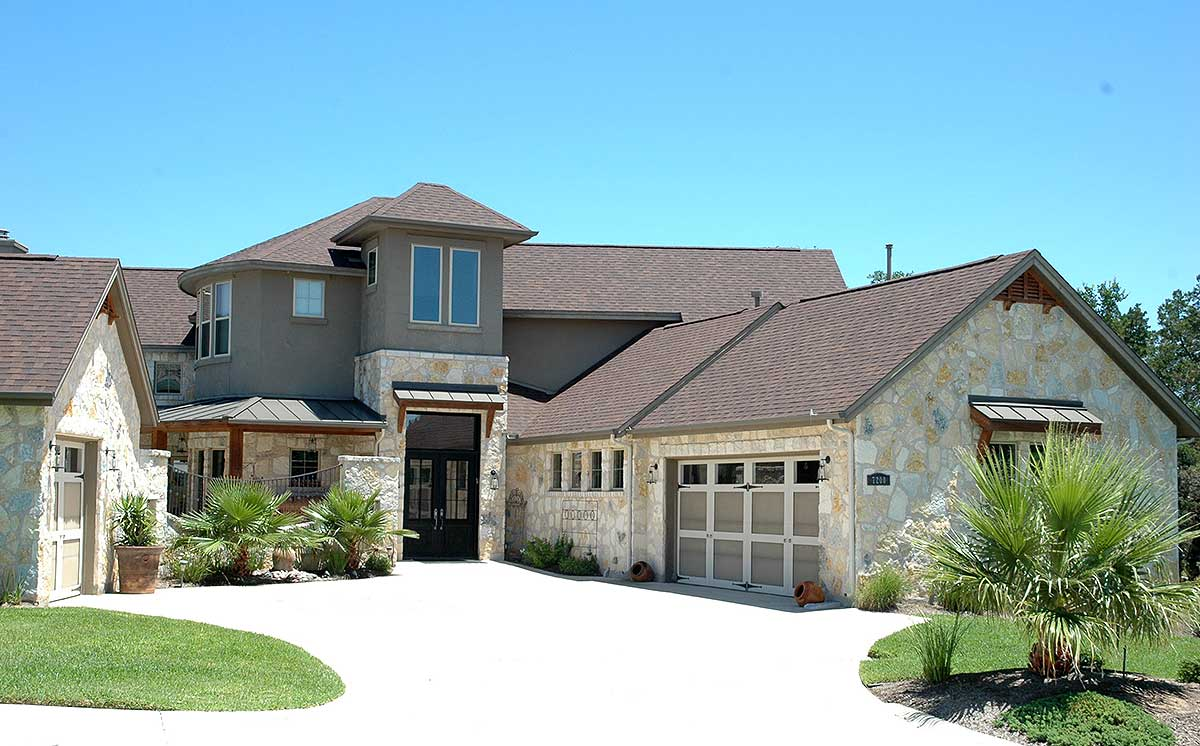 Spectacular texas style home plan 31166d architectural for Texas style homes