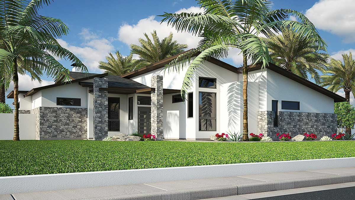 4 Bedroom Modern With In Law Suite 31185d