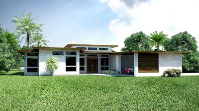 modern ranch house plans. 3 Bed Modern Ranch House Plan - 31186D Thumb 01 Plans A