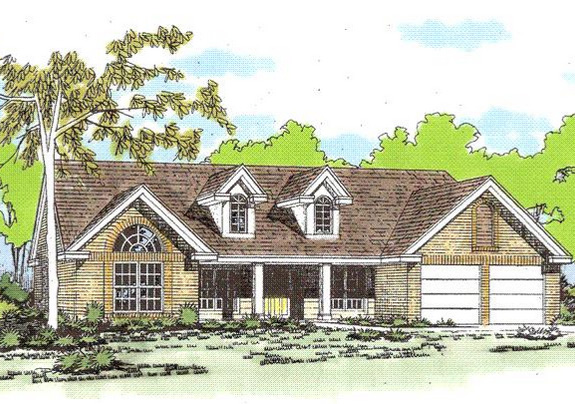 Country style home plan with high ceilings 3137d 1st floor master suite cad available - House plans high ceilings ...