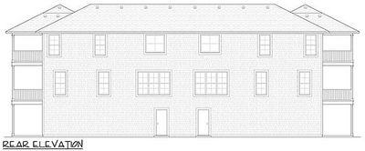 Coastal duplex with porches 31501gf architectural for Coastal duplex house plans