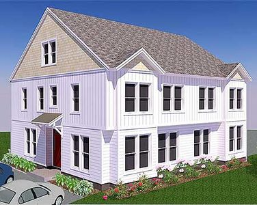 Side by side duplex house plan 31503gf 2nd floor for Side by side duplex plans