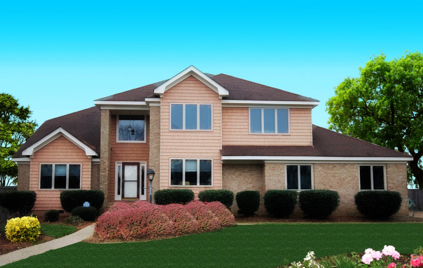 Traditional Home With Two Story Ceilings 31523gf