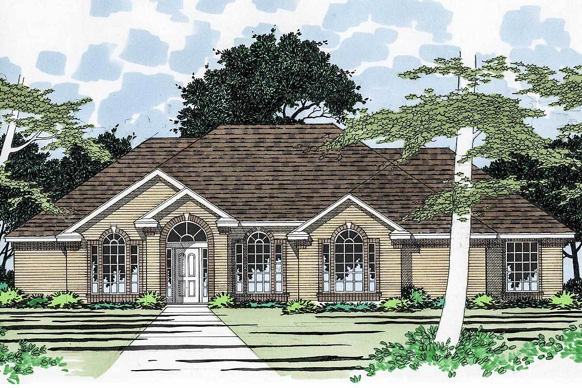 Stately house plan with options 3178d architectural for Stately house plans