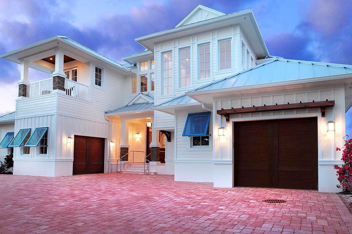 Stunning and spacious beach house plan 31824dn 1st for Beach house design pdf