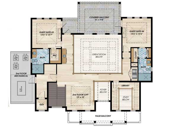 High end florida house plan 31838dn architectural for High end home plans