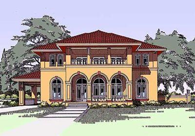 Unique Mediterranean Home Plan 3192d Architectural Designs House Plans