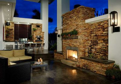 Contemporary Florida Style Home Plan - 32051AA thumb - 06