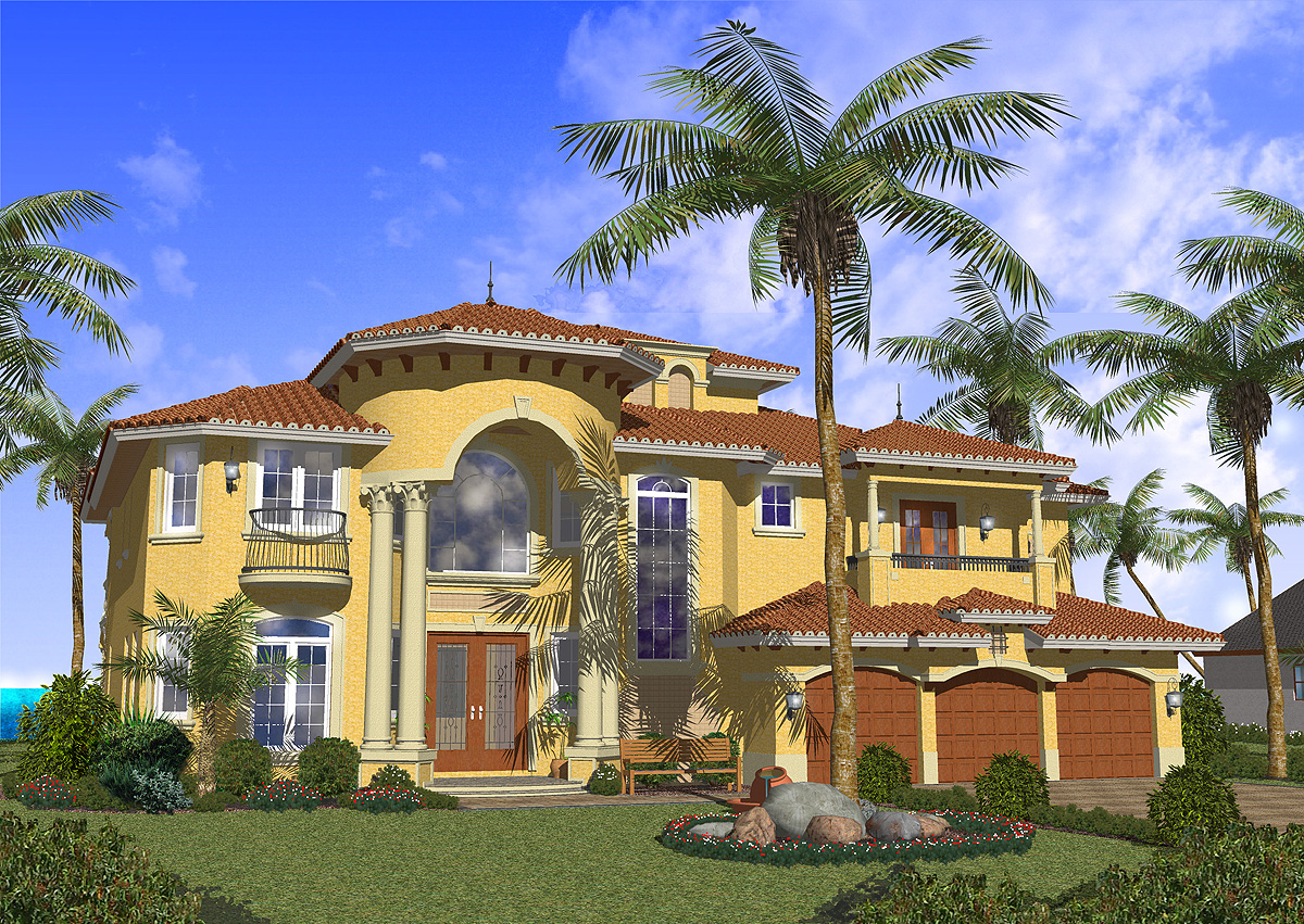 luxurious master suite 32062aa architectural designs house plans - Architectural Designs Com