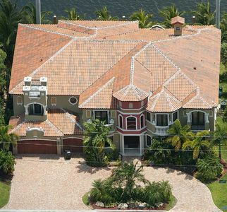 Two story luxury mediterranean home plan 32066aa for Two story luxury house plans