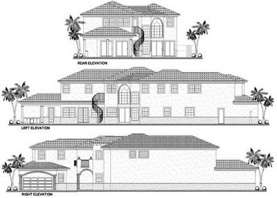 Mediterranean Manor with Four Versions - 32154AA thumb - 02