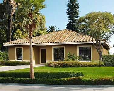 Small 4 Bedroom Mediterranean House Plan - 32212AA | Architectural ...