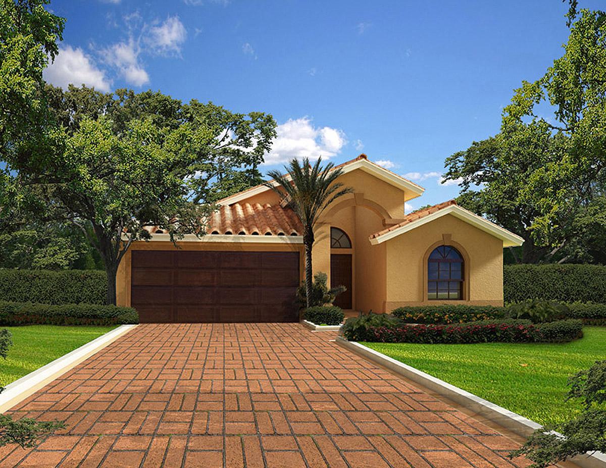 Classic Florida Bungalow House Plan - 32213AA ...
