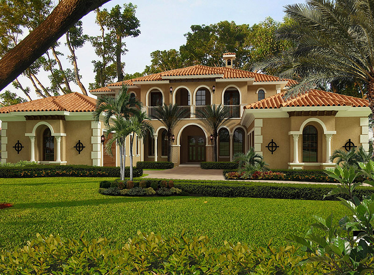 Mediterranean opulence 32237aa architectural designs for Two story mediterranean house plans
