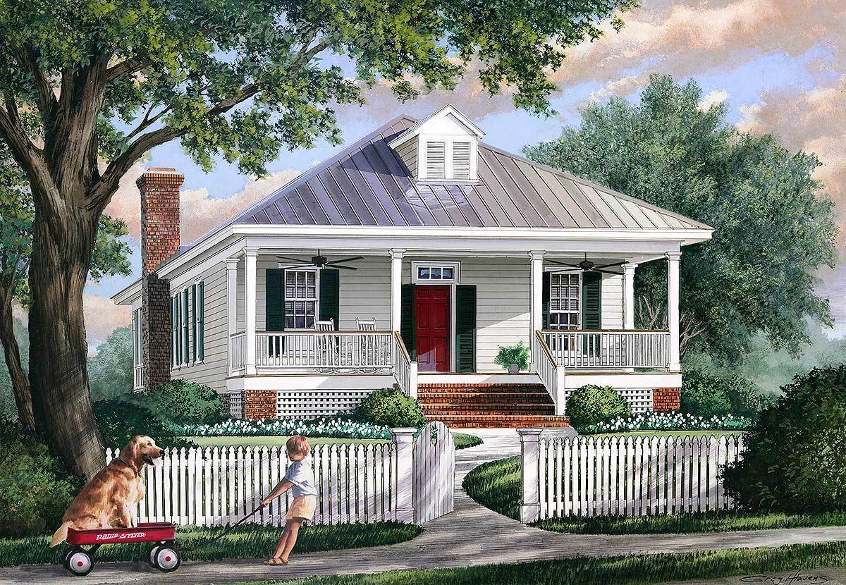Southern charm 32402wp architectural designs house plans Southern charm house plans