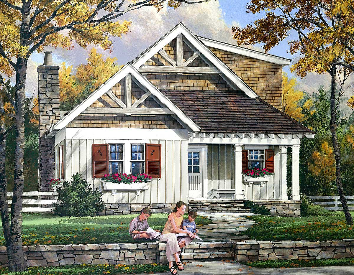 Filled with character 32404wp architectural designs for House plans with character