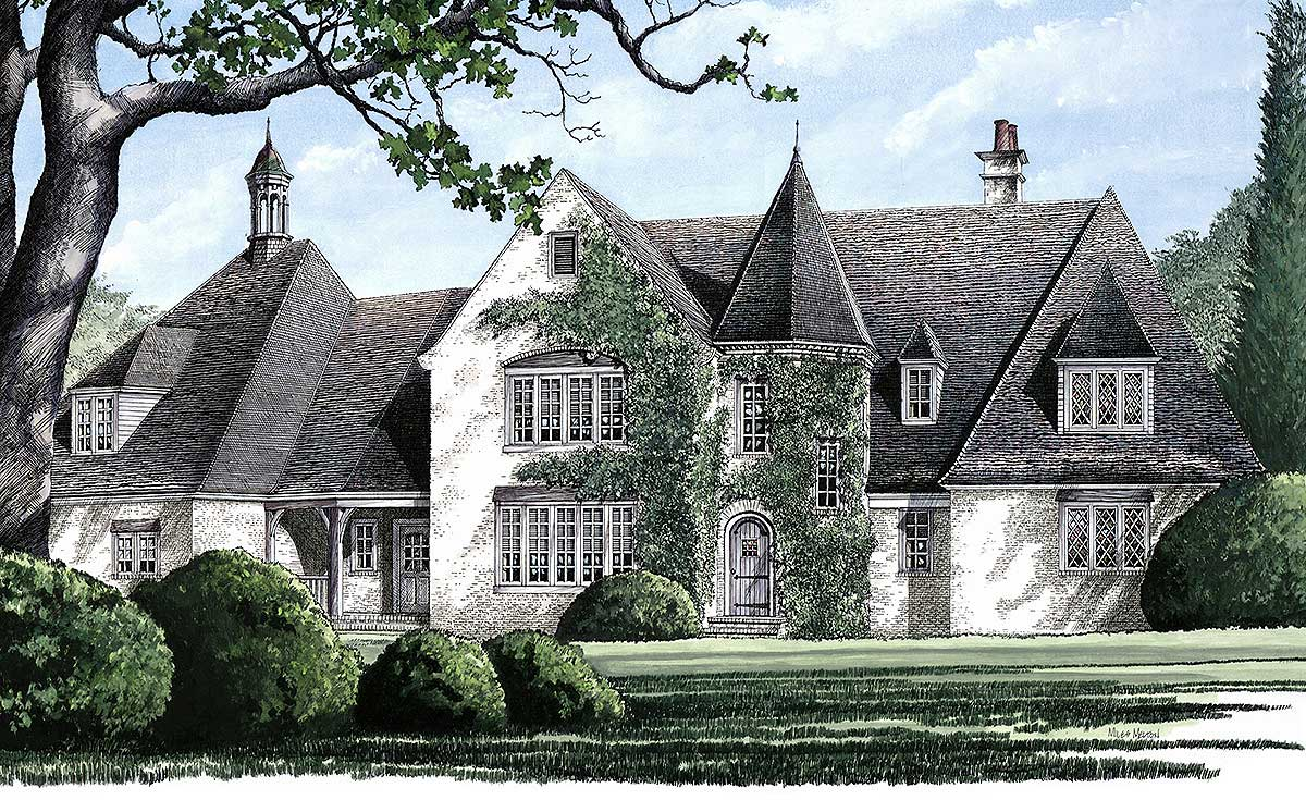 Pure elegance 32409wp architectural designs house plans for Pure home designs