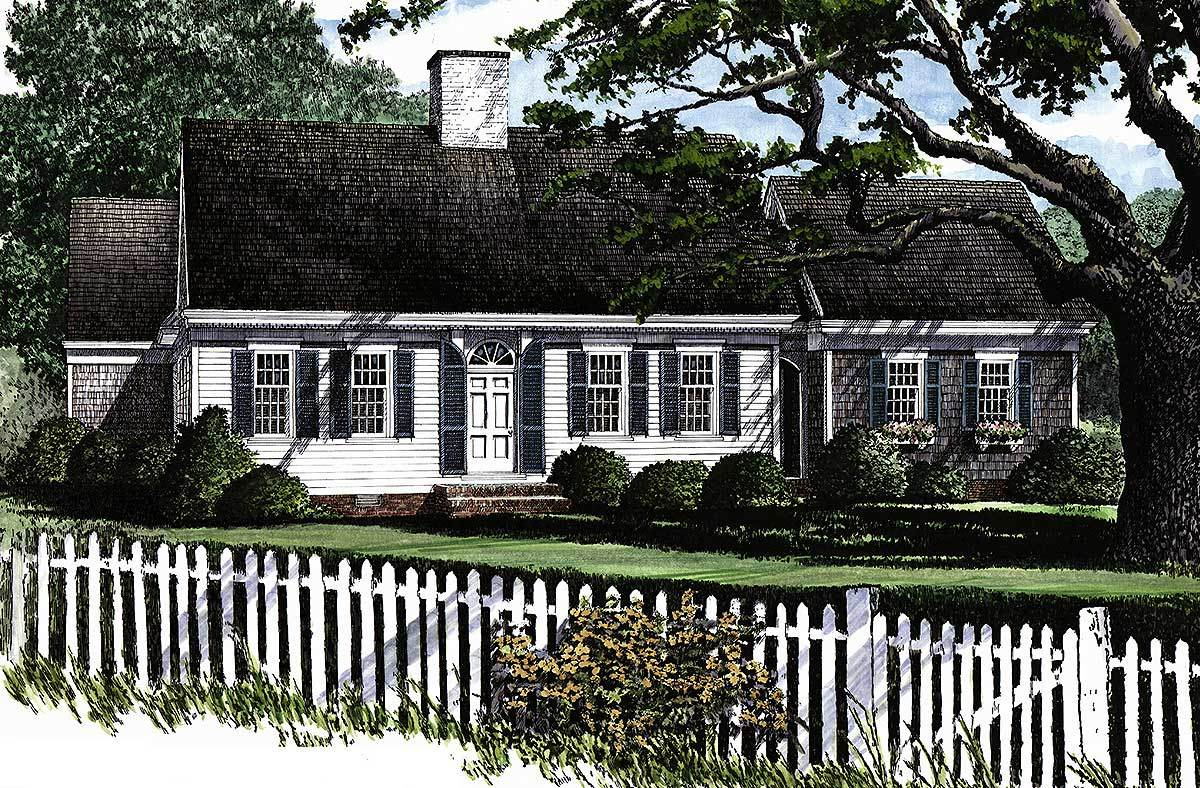 Cozy cape cod home plan 32429wp architectural designs for Large cape cod house plans